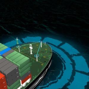 첫 완전 자율운항 선박 순항하다